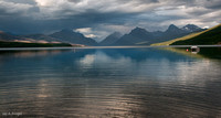 Looking up Lake McDonald from Apgar