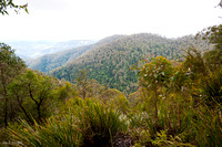 View to the lowlands, Barrington Tops National Park