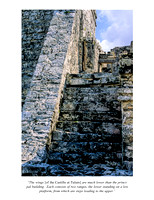 Tulum: El Castillo, Stairs to the South