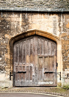 Old gate to New College, Oxford