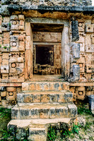 Kabeh   -   Kotz Po'op - doorway with Chac steps