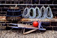 Lobster Traps, Mullion Cove, England
