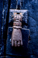 Trujillo - Hand of Fatima door knocker