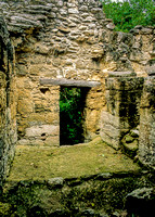 Calakmul   - Structure 3 - doorway with wooden lintle