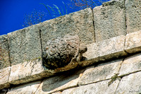 Uxmal - House of Turtles, detail