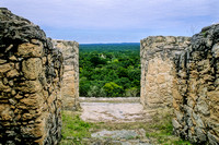 Calakmul   - Structure 2 - View from top