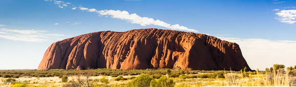 Uluru, northwest face, morning