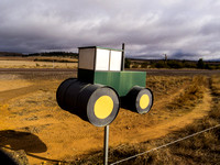 Mailbox as a tractor
