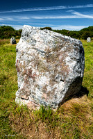 Quartzite boulder, The Stones of Boscawen-Un