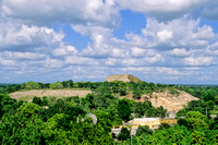 Itzamatul  -   view of Izamal from top of Itzmatul