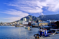 Table Mountain and the V & A Waterfront, Cape Town