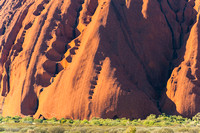 Morning light on Uluru - 2